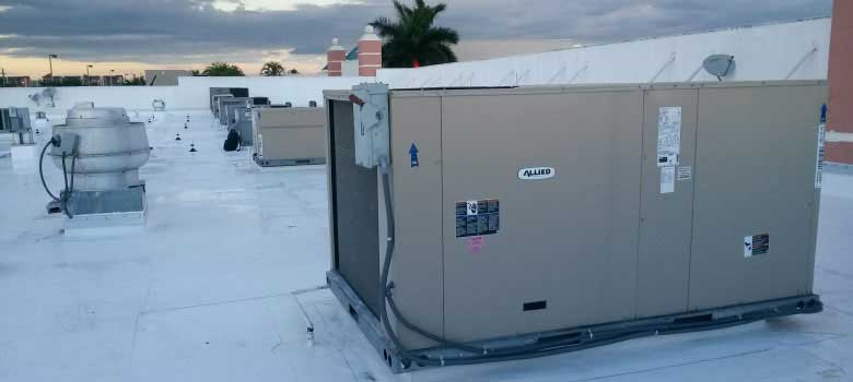 Keep you employees and customers happier with a well functioning HVAC system for your commerical space or business.