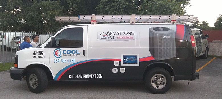 Cool Environment is here for you! We service, repair and install cooling systems!